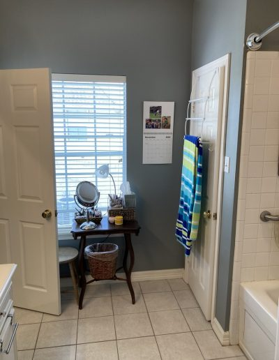 Old Entry Door & Small Closet